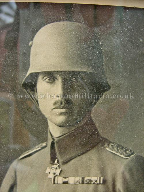 ww1 german officer  dated 1918