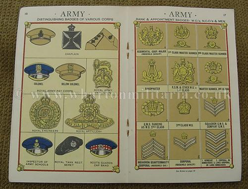 Ranks And Badges In The Navy Army Raf And Auxiliaries